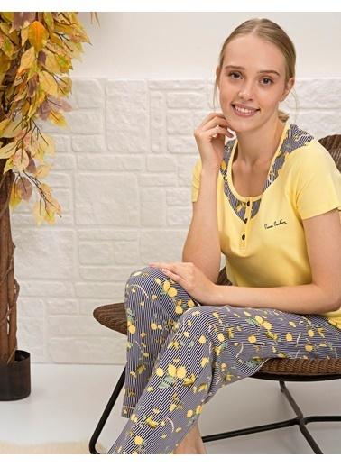 Pierre Cardin Pijama Takım Sarı